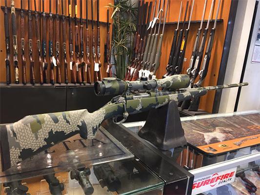Quality custom rifle and firearms